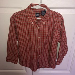Other - GAP Boys Long-sleeved Button-up